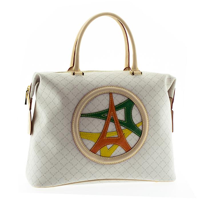 Tσάντα γυναικεία La tour Eiffel 121031-4-Λευκό - Γυναικειες τσαντες ... 2e076c0c501