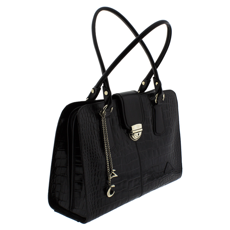 1f49131c2d Επαγγελματική τσάντα δέρμα 1503-Μαύρο - Γυναικειες τσαντες ...