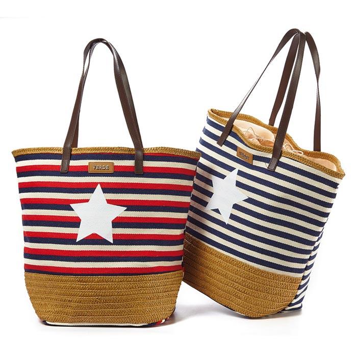 13c74fd727 Τσάντα θαλάσσης Verde 16-4051-Multicolour - Γυναικειες τσαντες ...