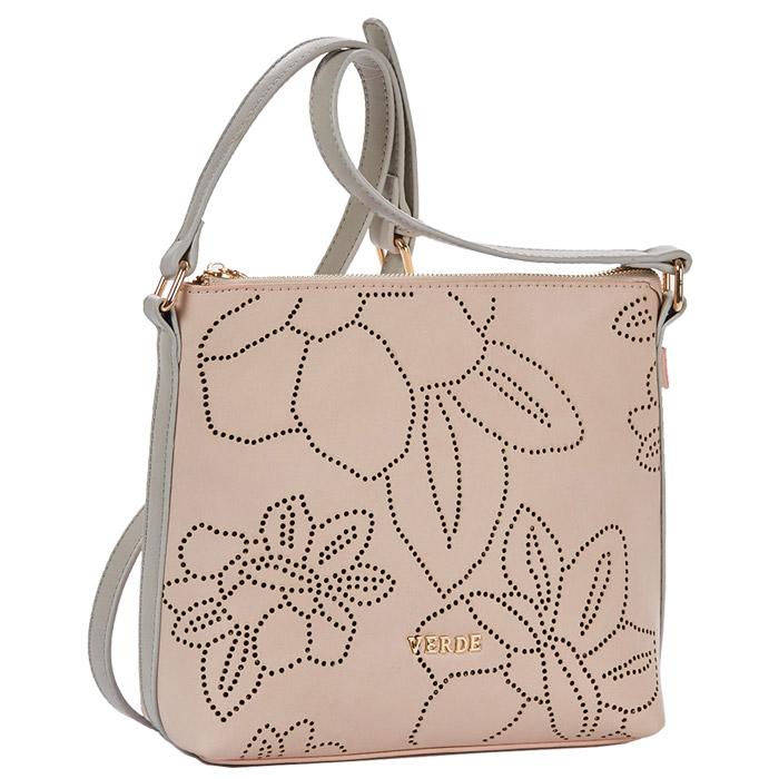 2b4d2689fd Τσάντα γυναικεία χιαστί Verde 16-4523-Ροζ - Γυναικειες τσαντες ...