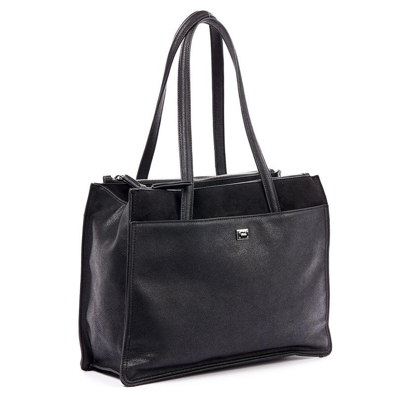 Τσάντα Ωμου Verde 16-4807-Μαυρο - Γυναικειες τσαντες  1a803ae3993