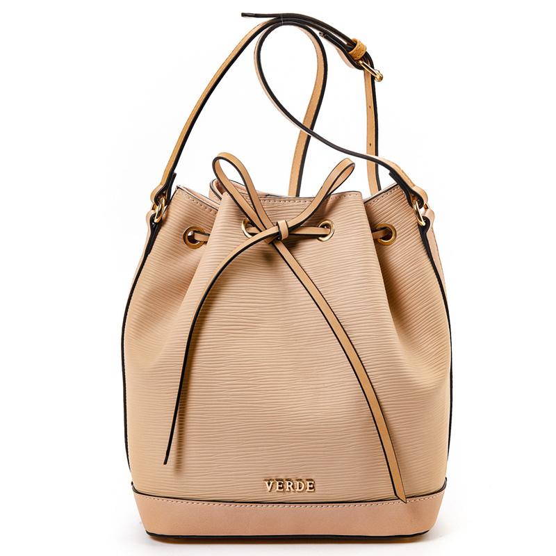 37c2d97634 Τσάντα γυναικεία πουγκί Verde 16-5023-Nude - Γυναικειες τσαντες ...