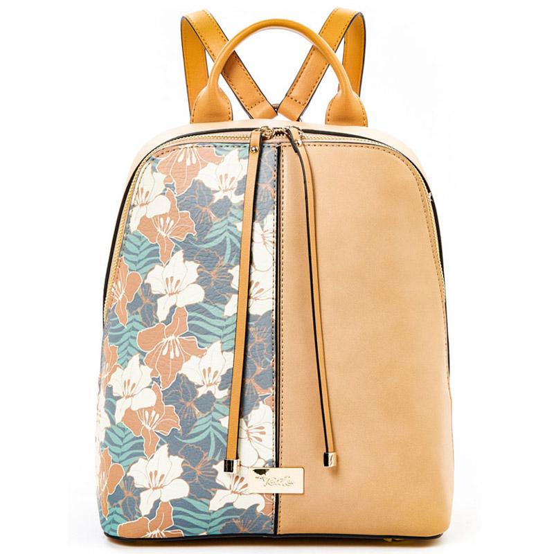 f8f4db943fb Τσάντα πλάτης γυναικεία Verde 16-5033-Καμηλό