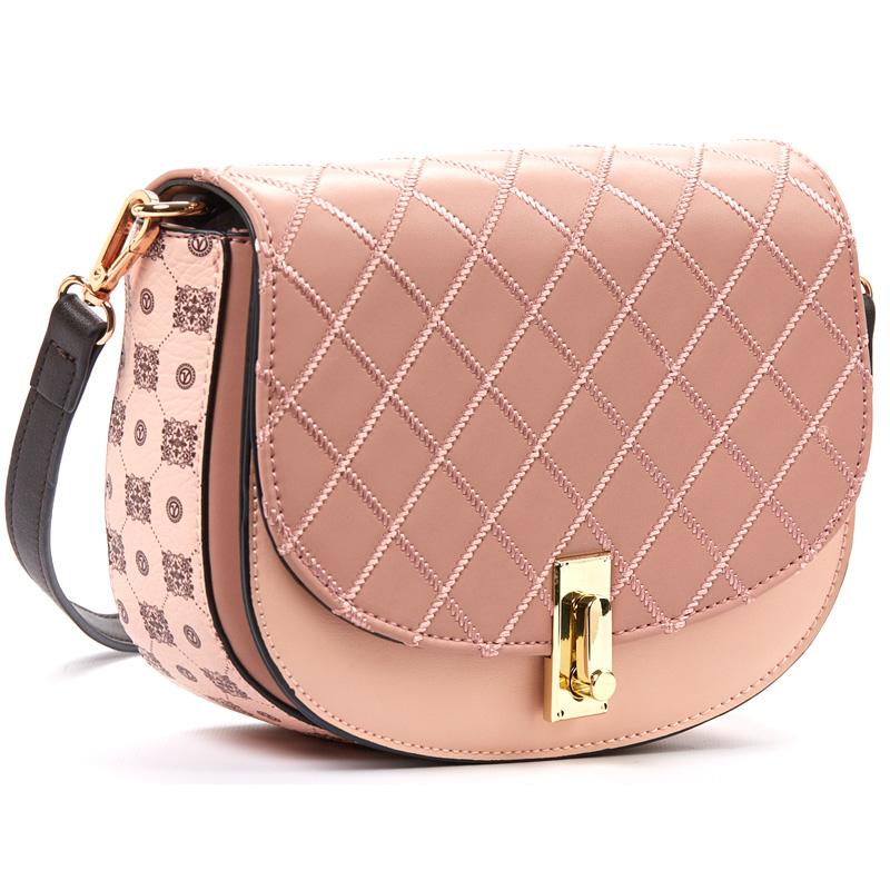 f3cf237a02 Τσάντα γυναικεία χιαστι Verde 16-5113-Ροζ - Γυναικειες τσαντες ...