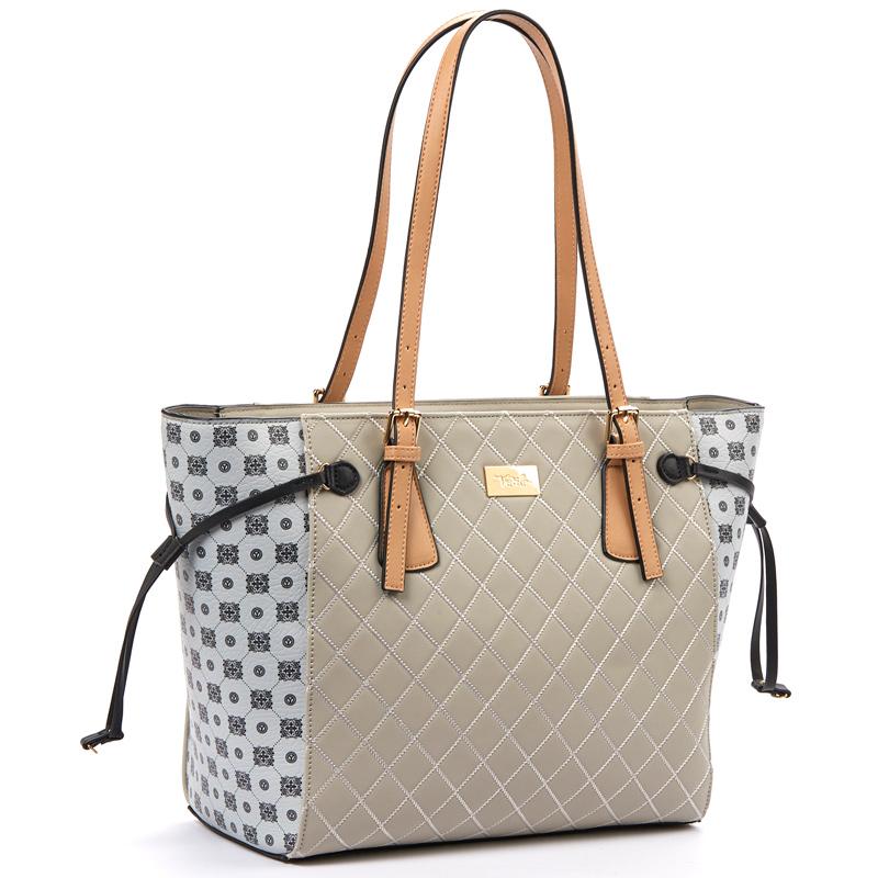 60fd0b422c Τσάντα γυναικεία Ώμου Verde 16-5115-Γκρι - Γυναικειες τσαντες ...