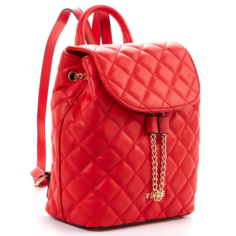 3de661c153 Τσάντα πλάτης γυναικεία Verde 16-5166-Κόκκινο - Γυναικειες τσαντες ...