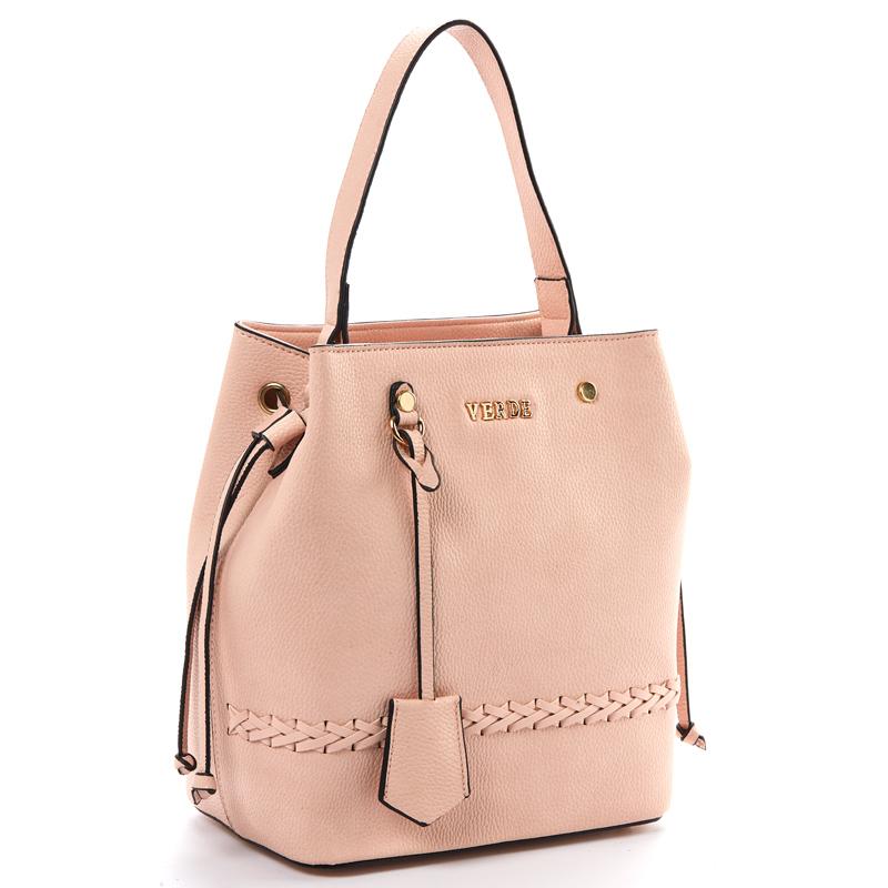 5347b7599e Τσάντα γυναικεία Ώμου Verde 16-5185-Ροζ - Γυναικειες τσαντες ...