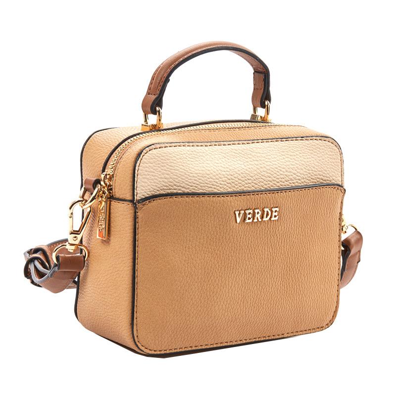 235dba7635 Τσάντα γυναικεία χιαστί Verde 16-5187-Καμηλό - Γυναικειες τσαντες ...
