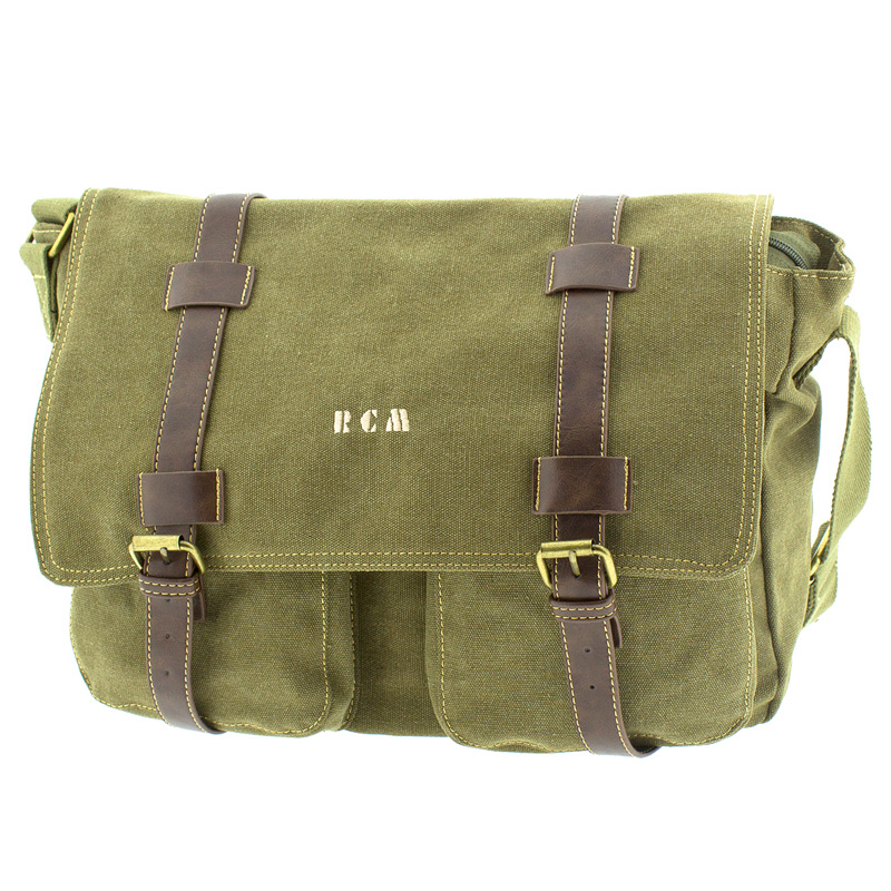 95e095d822 Επαγγελματική τσάντα ταχυδρόμου Rcm 17478-Χακι - Γυναικειες τσαντες ...