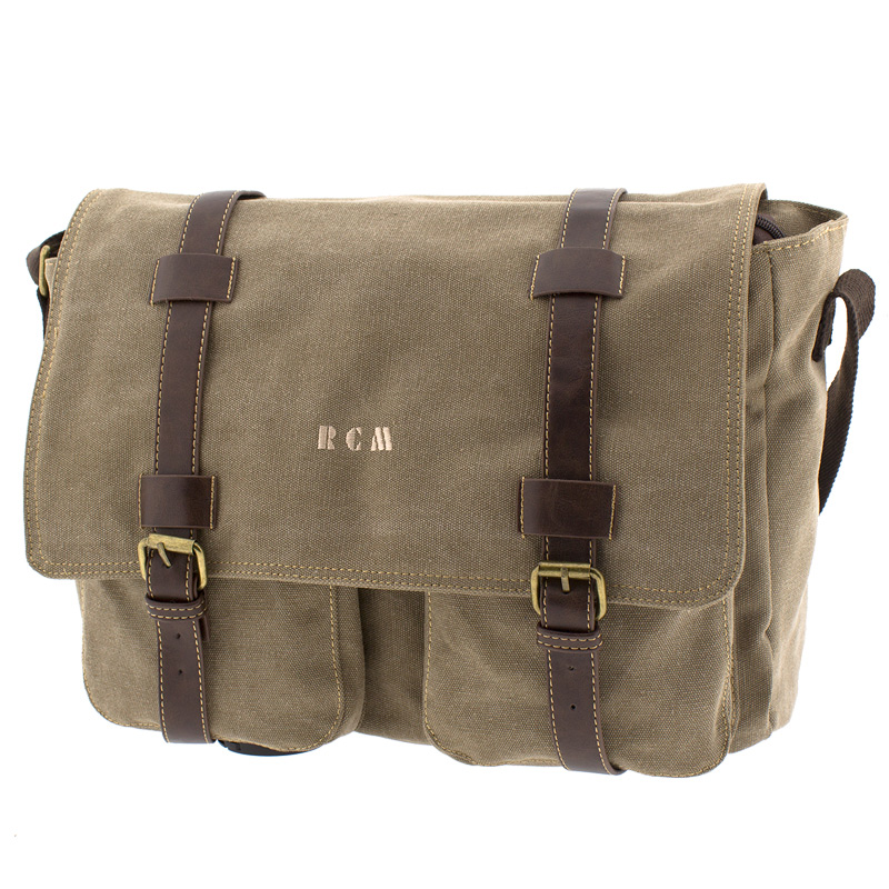 61053a5c073 Επαγγελματική τσάντα ταχυδρόμου Rcm 17478-Μπεζ