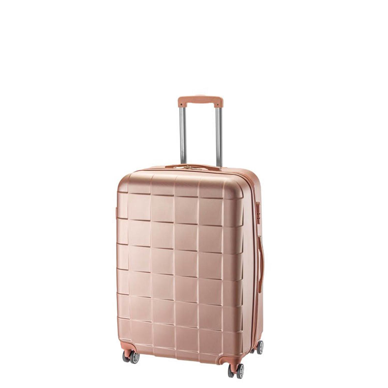 13db8a4dd8 Βαλίτσα σκληρή ABS Μικρή με επέκταση Rcm 18-001-55-Ροζ - Γυναικειες τσαντες