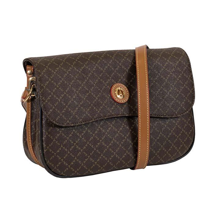 a59b52f3b7 Τσάντα γυναικεία χιαστί La tour Eiffel 122037-2-Καφέ - Γυναικειες τσαντες