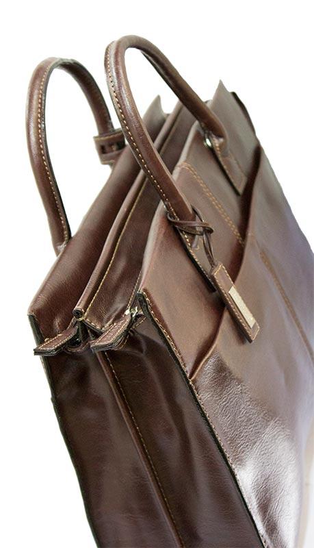 Επαγγελματική τσάντα Bartuggi 118-2101-Καφέ - Γυναικειες τσαντες ... 417d9c8de1d