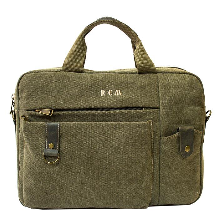 382af533b3 Επαγγελματική τσάντα Rcm 68077-Χακί - Γυναικειες τσαντες