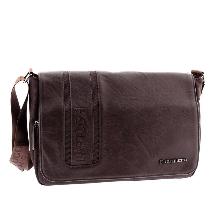42ae697cd1 Ανδρική τσάντα ταχυδρόμου Bartuggi 82-711-3775-Καφέ - Γυναικειες τσαντες