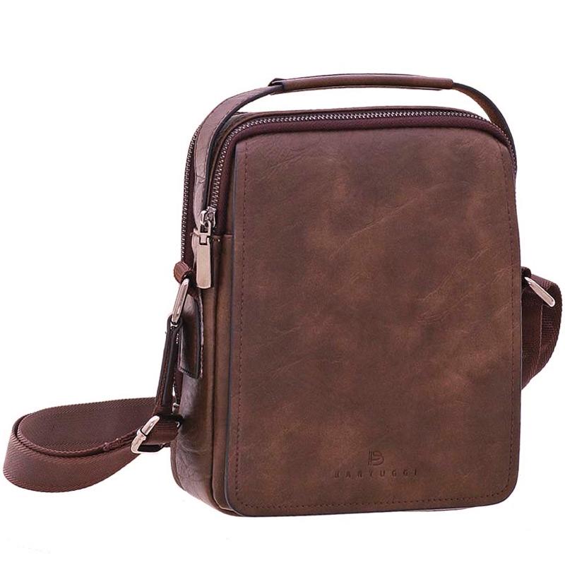 b4e09ac5f5 Ανδρική τσάντα ταχυδρόμου Bartuggi 82-718-162014-Καφε - Γυναικειες τσαντες