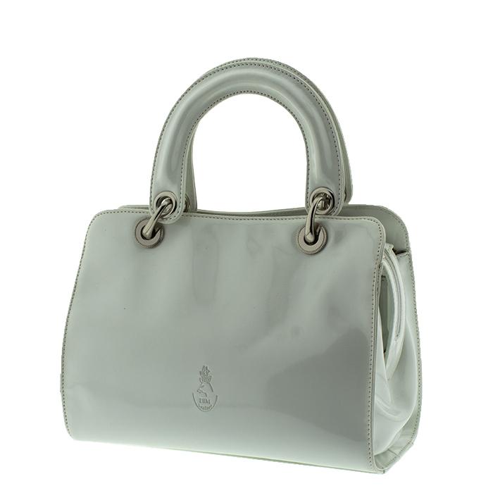Tσάντα γυναικεία δέρμα A2-Λευκό - Γυναικειες τσαντες  70347b9d632