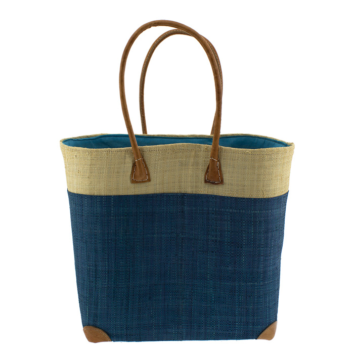 bcea24255d Τσάντα θαλάσσης πλεκτή B16-106-Μπλε - Γυναικειες τσαντες