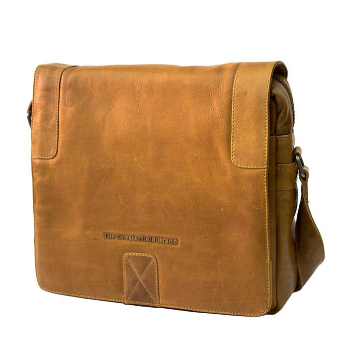 Τσάντα ταχυδρόμου δέρμα Chesterfield C48.032631-Καμελ - Γυναικειες τσαντες   ab08eca0c50