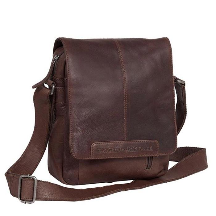 Tσάντα χιαστί δέρμα Chesterfield C48.055001-Καφέ - Γυναικειες τσαντες  69a4ed5c796