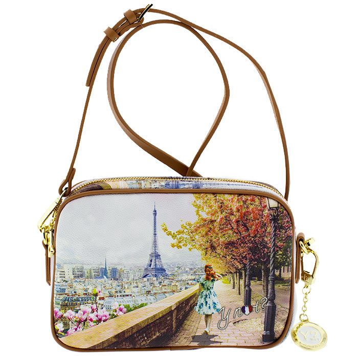 458b7ca550 Τσάντα γυναικεία χιαστί Ynot J310-Eiffel-Walk - Γυναικειες τσαντες ...