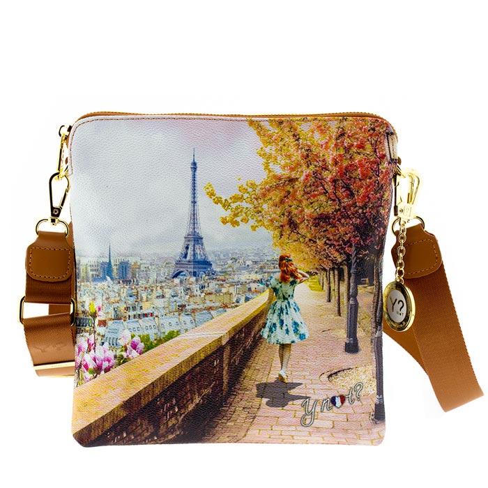1029e6578d Τσάντα γυναικεία χιαστί Ynot J314-Eiffel-Walk - Γυναικειες τσαντες ...