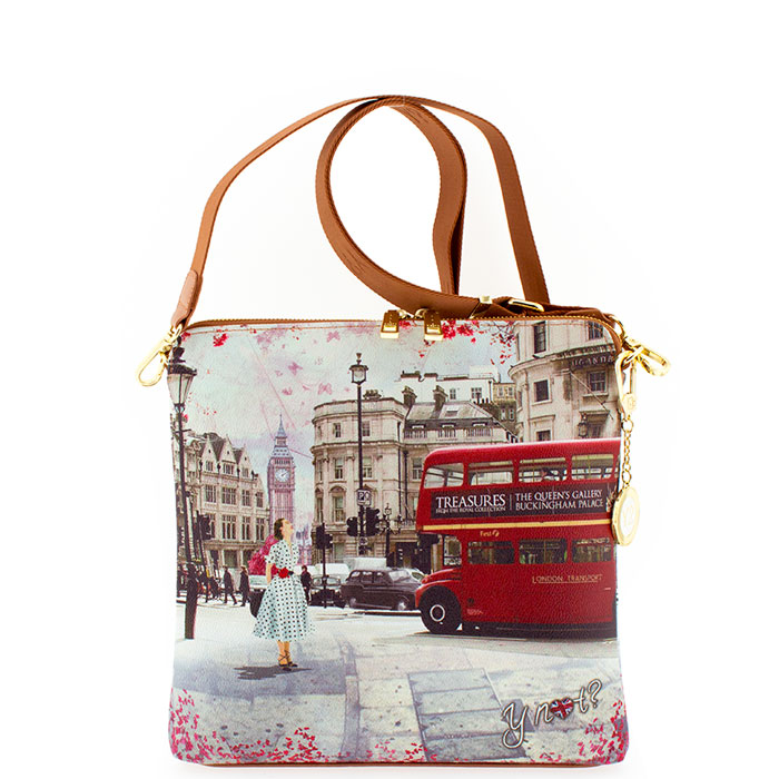8d127a7455 Τσάντα γυναικεία χιαστί Ynot J316-Bus-Ride - Γυναικειες τσαντες ...