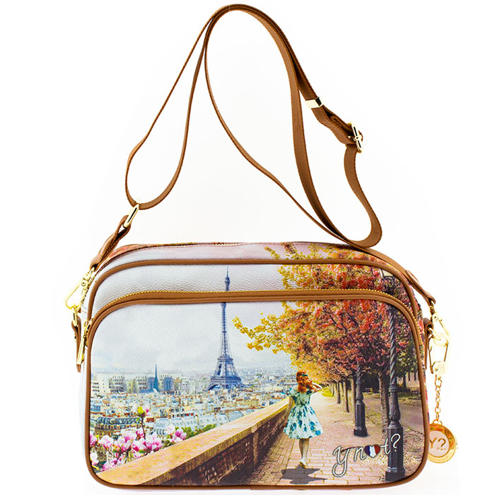 d2c893375a Τσάντα γυναικεία χιαστί Ynot J331-Eiffel-Walk - Γυναικειες τσαντες ...
