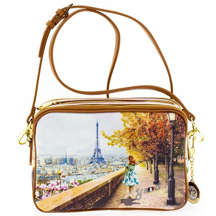 0cd00ccf71 Τσάντα γυναικεία χιαστί Ynot J350-Eiffel-Walk - Γυναικειες τσαντες ...